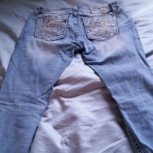 Miss Me Fluer de Lis jeans - size 29